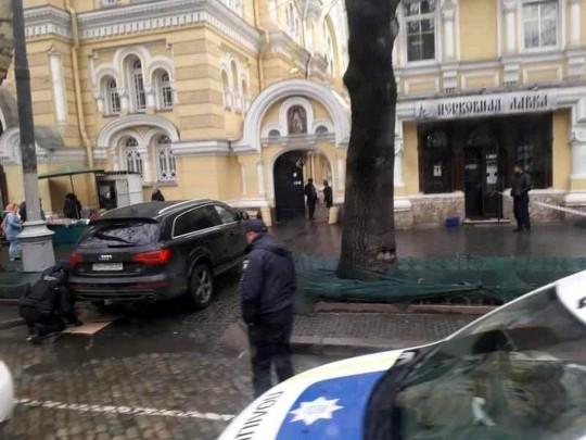 В Одессе переполох из-за «минирования» авто священника