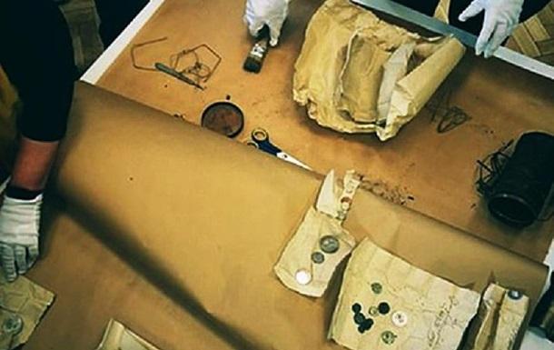 Во время ремонта церкви найдена древняя капсула времени