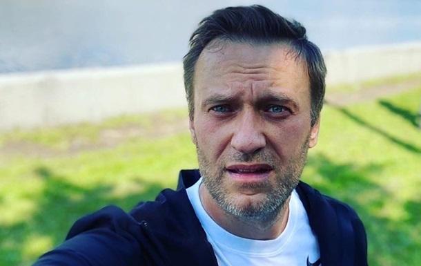 Появилось первое фото Навального из больницы