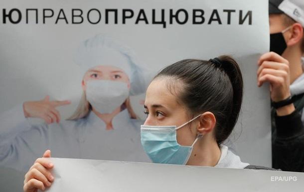 Украина хочет ввести полный локдаун. Что это будетСюжет